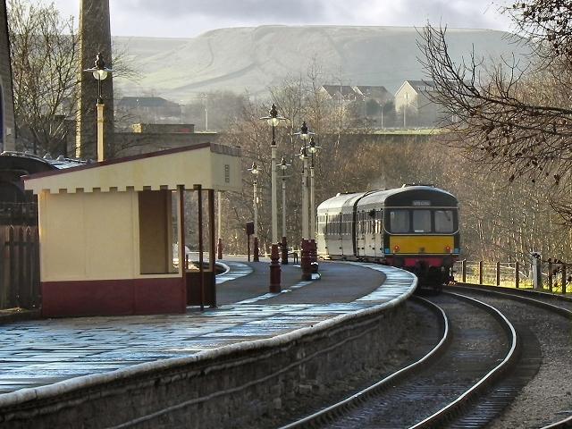 East Lancashire Railway Rawtenstall David Dixon