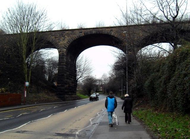 Dis-used railway viaduct