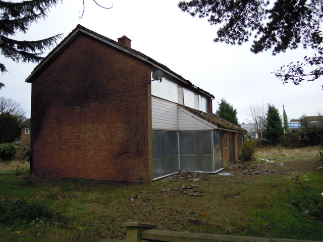 Derelict Building, Lode Lane, Solihull