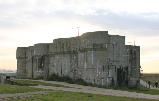 Heavy Quick Firing Battery, Shoeburyness