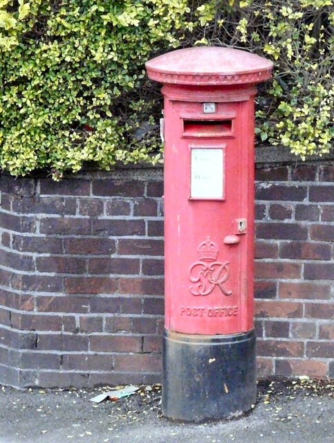 Lower Bredbury Post Box