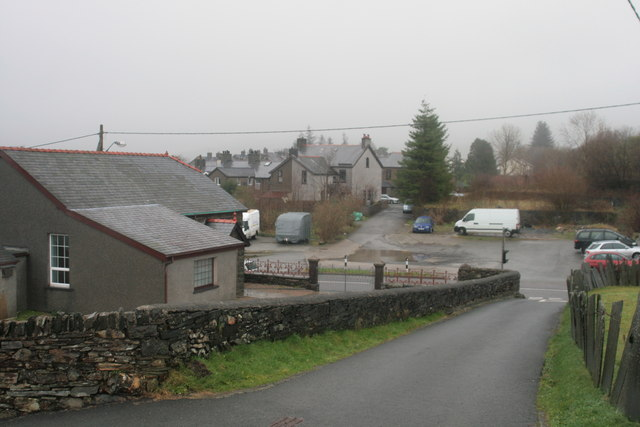 Wet Christmas day in Ffestiniog