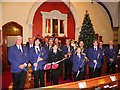 H4572 : St Eugene's Brass Band, Omagh by Kenneth  Allen