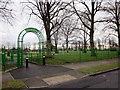 SP1093 : Short Heath Park Erdington, Court Lane Entrance by Roy Hughes