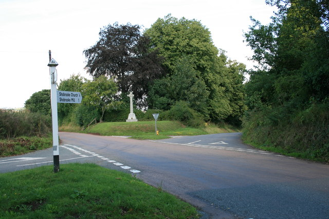 Shobrooke Cross