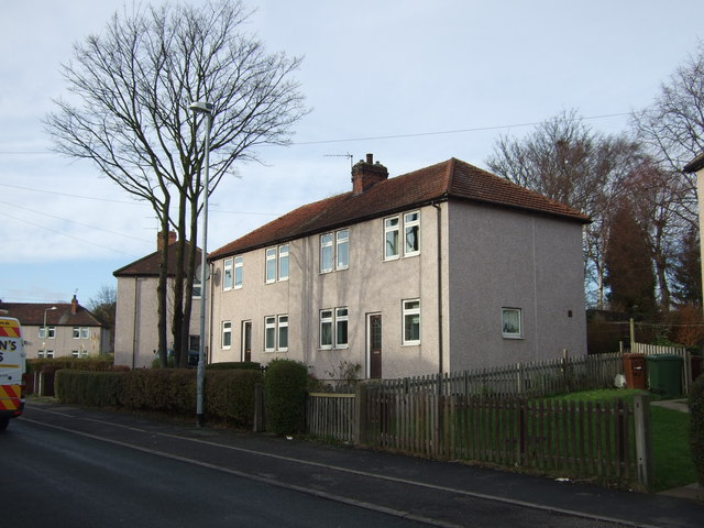 Houses on Waterton Road