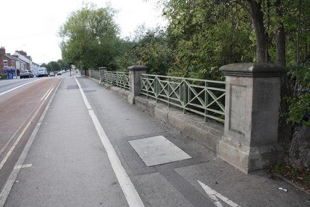 Bulstake Bridge, Botley Road