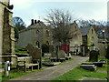 SK2692 : High Bradfield from the churchyard by Andrew Hill