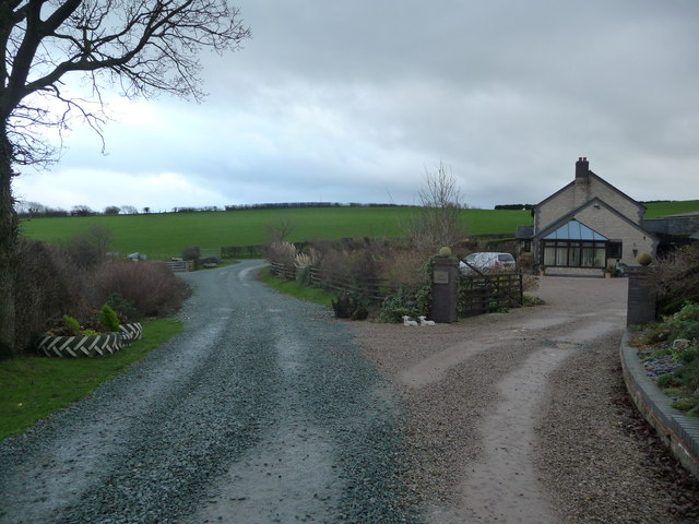 Rhos Cynhista farm above Pontrobert