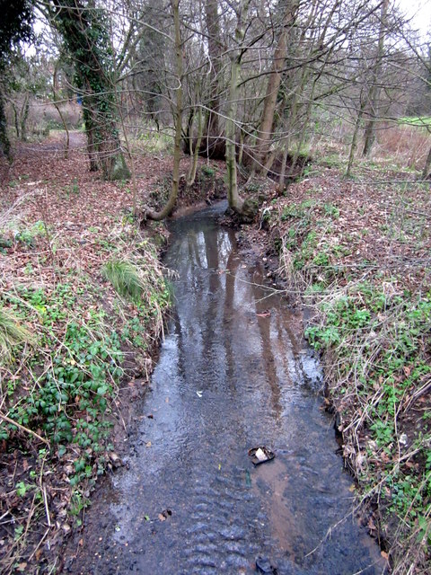 Griffin's Brook, Passing Under Cob Lane