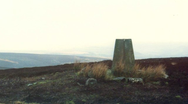 Trig Point on Whit Fell, Stainton Moor