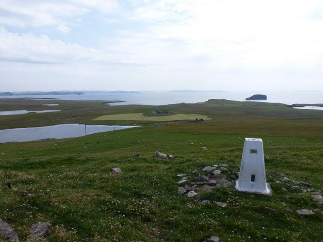 Eshaness: the trig point