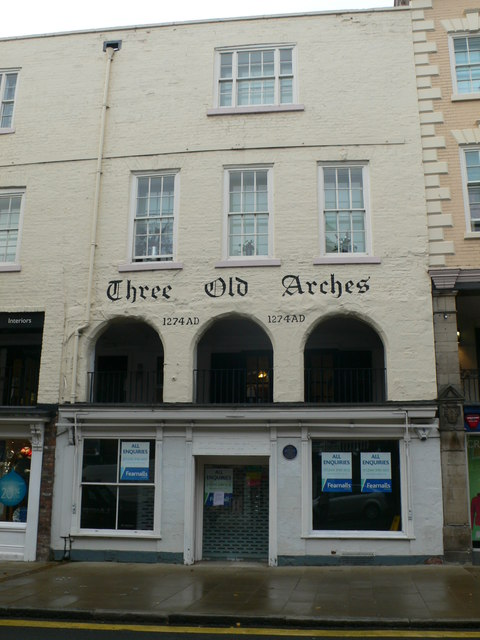 Three Old Arches, Chester