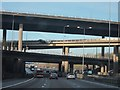 TQ3053 : M25, junction 7 by Oast House Archive