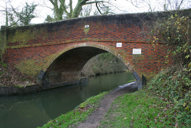 Newton Bridge, The Grand Union Canal Leicester Branch