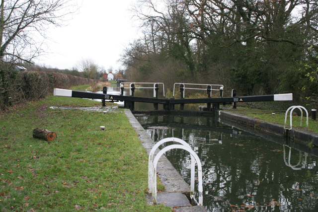 Spinney Lock, Grand Union Canal
