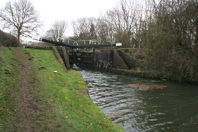 Top Half-Mile Lock, Grand Union Canal