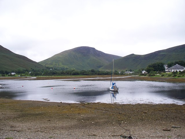 Loch Ranza At Low Tide