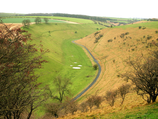Water Dale from the Wolds Way