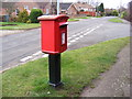TG2218 : Chapel Road &amp; Hainford Post Office Postbox by Adrian Cable