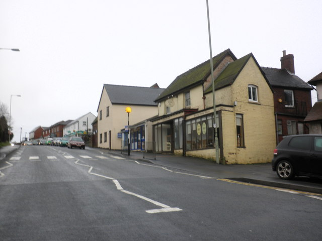 Shops, Clee Hill