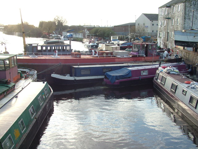 Boats on the Calder