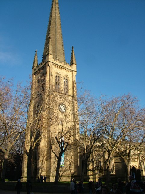 Wakefield cathedral tower
