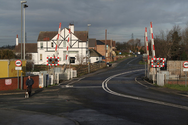 Whitley Bridge level crossing