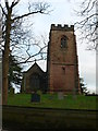 SJ4476 : The church of St James the Great, Ince by Eirian Evans