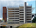 SE2934 : Broadcasting Tower and car park, Leeds by Stephen Richards