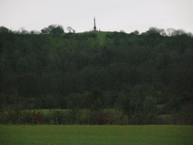 Coombe Hill from the north on the Aylesbury Ring path