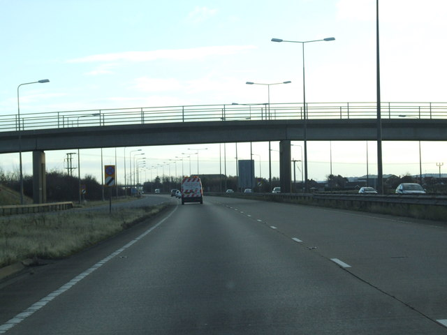 Bridge over the A180