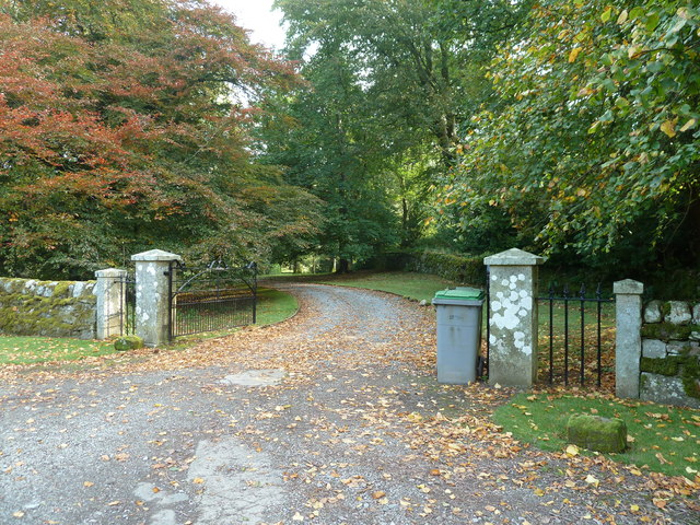 The entrance to Anwoth House