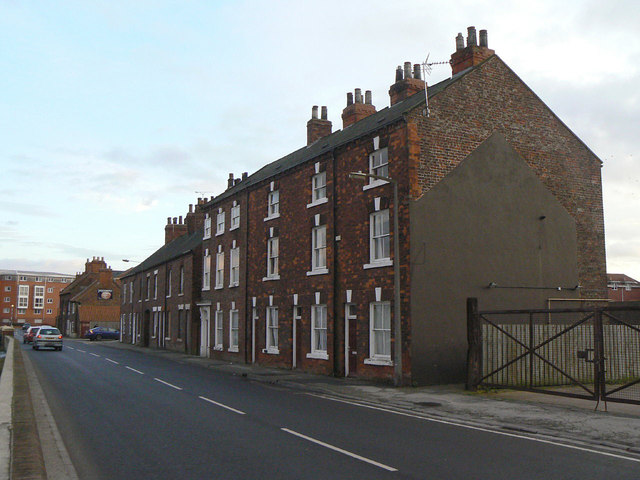Houses on Ousegate (98-104)