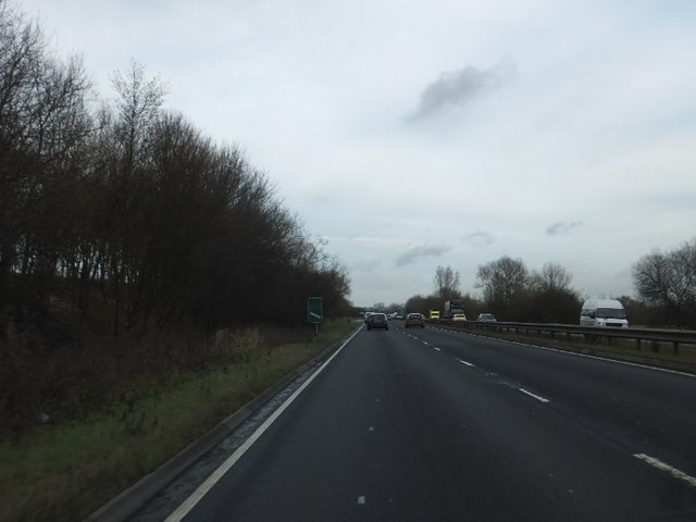 A419 approaching exit for Wheatstone Road (B4006)