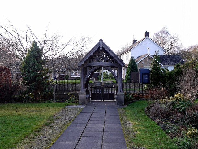 Lychgate, St Oswin's Church, Wylam