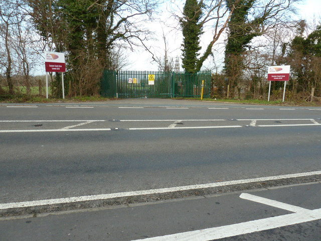 Electrical sub-station off the B2192