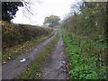 SP8026 : Cross Bucks Way by Shaun Ferguson