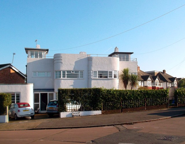 Art Deco, Semi-detached