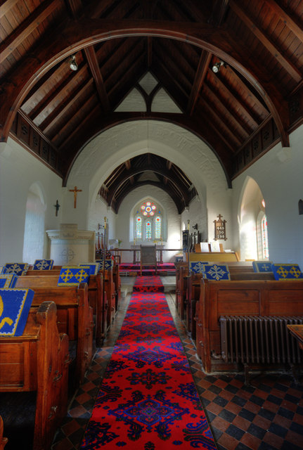 St. Owain's Church Interior
