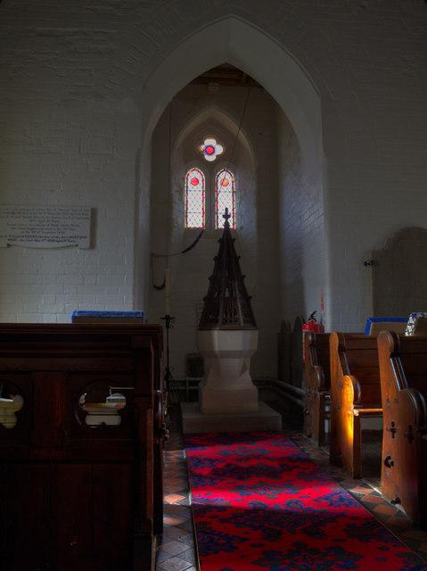 St. Owain's Church Font