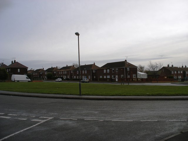 Open space on Jago Avenue, Clowne