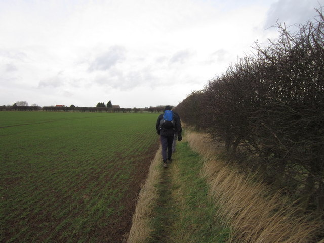 Walking towards Catwick