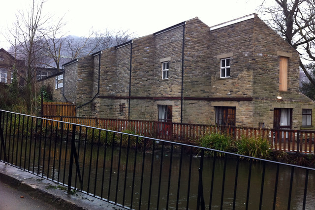 Building at the rear of the Hebden Bridge Little Theatre