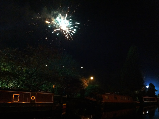 Hebden Bridge firework display - 5th November 2011