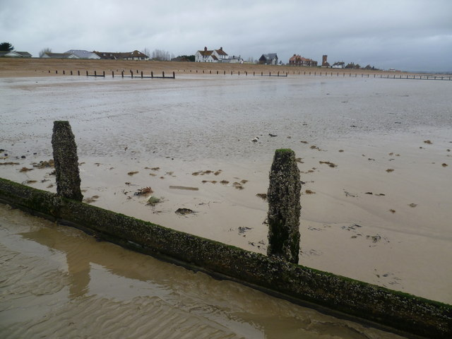 Looking towards Coast Road, Littlestone-on-Sea