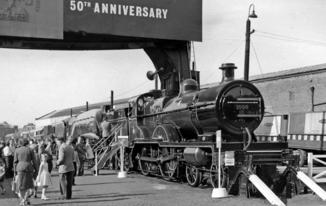 Exhibition of Locomotives, Marylebone Goods Yard May 1961