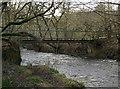 SD7211 : Footbridge over Eagley Brook by Philip Platt