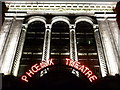 TQ2981 : London: Phnix Theatre fa&ccedil;ade by night by Chris Downer