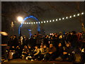 TQ3079 : London: New Year crowds begin to gather by Chris Downer